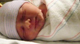 baby swaddledcrop