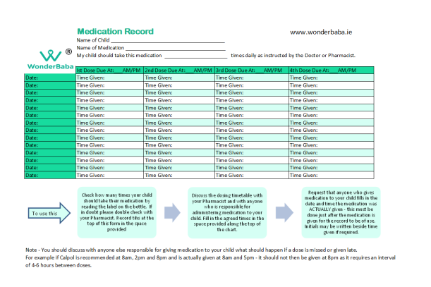 wonderbaba medication record download! pic
