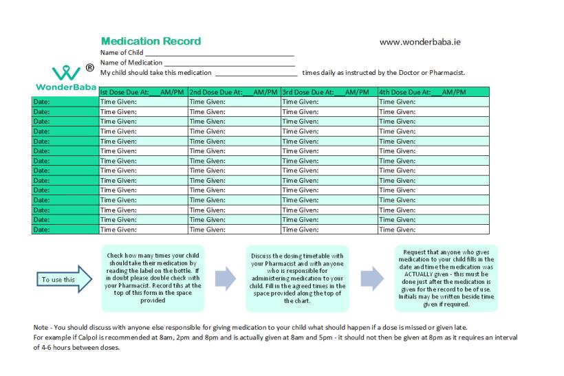 wonderbaba medication record download! pic